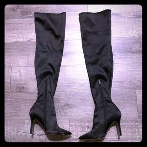 Gently worn Aldo thigh high boots.